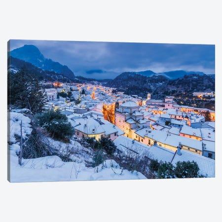 White Town (Grazalema, Spain) Canvas Print #CNS105} by Chano Sánchez Canvas Art Print