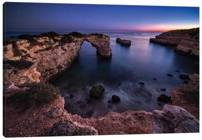 At The Edge Of The Universe (Algarve, Portugal) Canvas Art Print