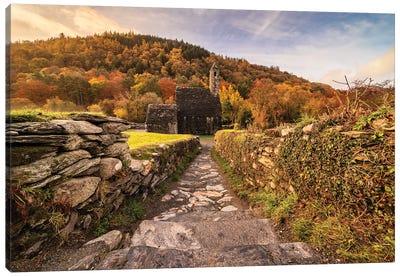 Autumnal Magic (Glendalough, Ireland) Canvas Art Print