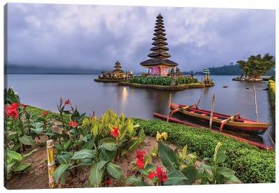 Floating On The Lake (Bali, Indonesia) Canvas Art Print