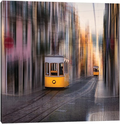 Going Up Or Down? (Lisbon, Portugal) Canvas Art Print