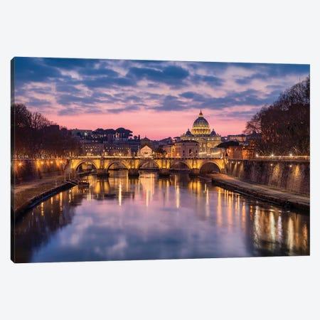 Eternally Beautiful (Rome, Italy) Canvas Print #CNS42} by Chano Sánchez Canvas Print