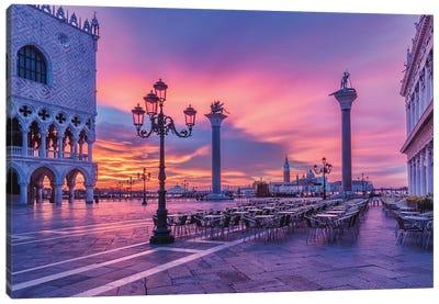 Eternal Fugacity (Venice, Italy) Canvas Art Print