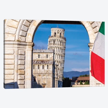 Italian Symbol (Pisa, Italy) Canvas Print #CNS48} by Chano Sánchez Canvas Art Print