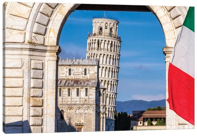 Italian Symbol (Pisa, Italy) Canvas Art Print