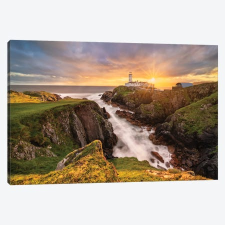 The Light Is My Guide (Donegal, Ireland) Canvas Print #CNS4} by Chano Sánchez Canvas Art