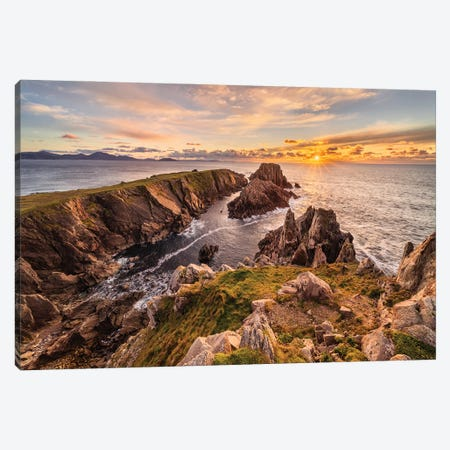 Hell Or Paradise? (Donegal, Ireland) Canvas Print #CNS53} by Chano Sánchez Canvas Artwork