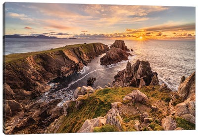 Hell Or Paradise? (Donegal, Ireland) Canvas Art Print