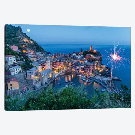 Magical Moments Union (Le Cinque Terre, Italy) Canvas Print #CNS59} by Chano Sánchez Canvas Artwork