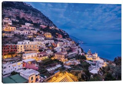 Mediterranean Jewel (Positano, Italy) Canvas Art Print