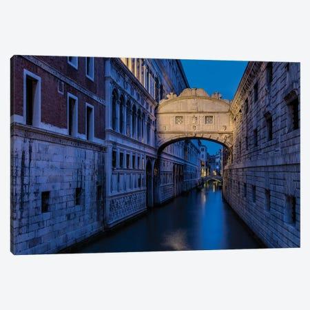Last Sighs (Venice, Italy) Canvas Print #CNS82} by Chano Sánchez Canvas Print