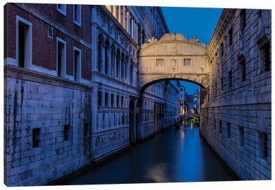 Last Sighs (Venice, Italy) Canvas Art Print