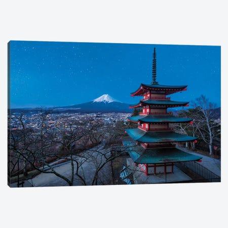 Timeless Fantasy (Mt. Fuji, Japan) Canvas Print #CNS94} by Chano Sánchez Art Print