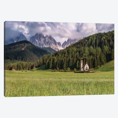 Trespassing Limits (Dolomites, Italy) Canvas Print #CNS95} by Chano Sánchez Canvas Print