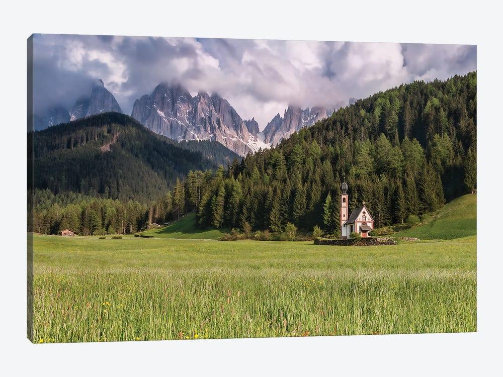 Trespassing Limits (Dolomites, Italy) by Chano Sánchez 1-piece Art Print