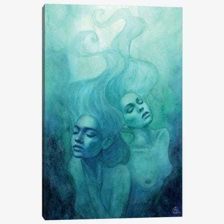 Oceanic Feeling Canvas Print #CNY10} by Anne-Sophie Cournoyer Canvas Art