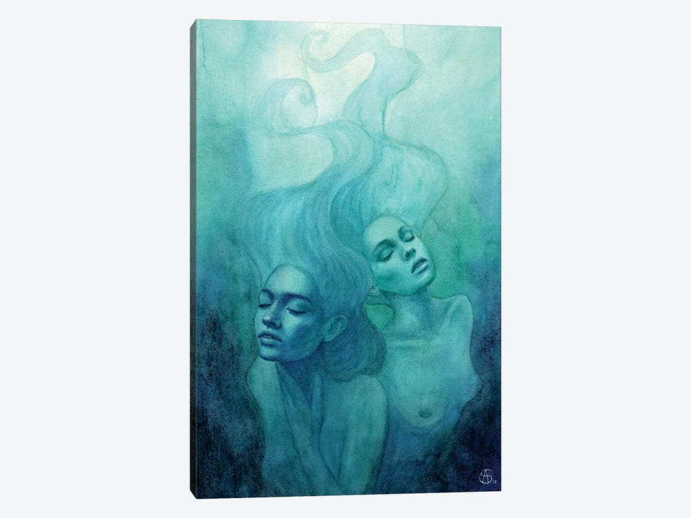Oceanic Feeling by Anne-Sophie Cournoyer 1-piece Canvas Art