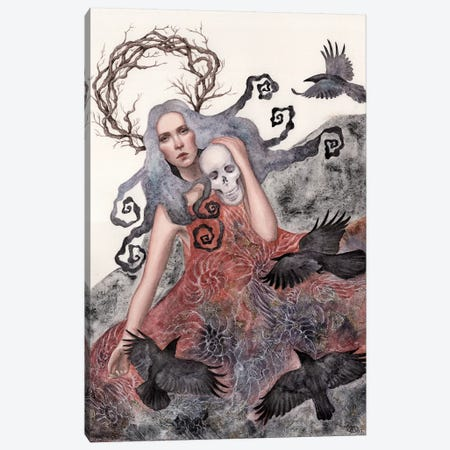 Solstice Canvas Print #CNY16} by Anne-Sophie Cournoyer Canvas Print