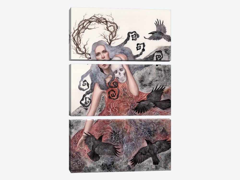 Solstice by Anne-Sophie Cournoyer 3-piece Canvas Artwork