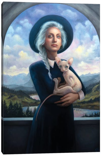 The Riddle Of The Sphynx Canvas Art Print