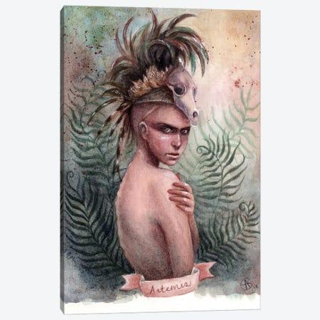 Artemis Canvas Print #CNY2} by Anne-Sophie Cournoyer Canvas Art Print
