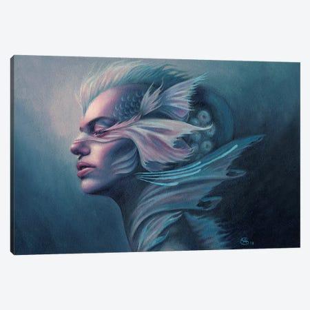 Eidyia 3-Piece Canvas #CNY4} by Anne-Sophie Cournoyer Canvas Artwork