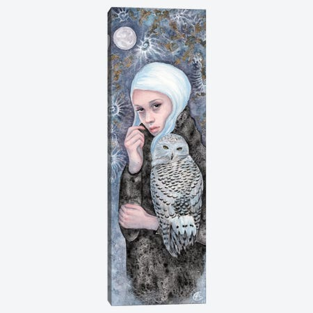 Nightowl Canvas Print #CNY9} by Anne-Sophie Cournoyer Canvas Print