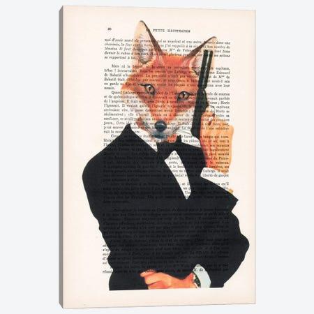 James Bond Fox I Canvas Print #COC109} by Coco de Paris Canvas Print