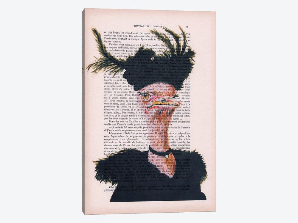 Jet-set Ostrich by Coco de Paris 1-piece Canvas Artwork