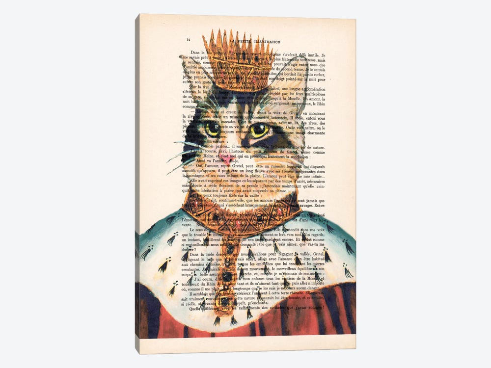 King Cat by Coco de Paris 1-piece Art Print