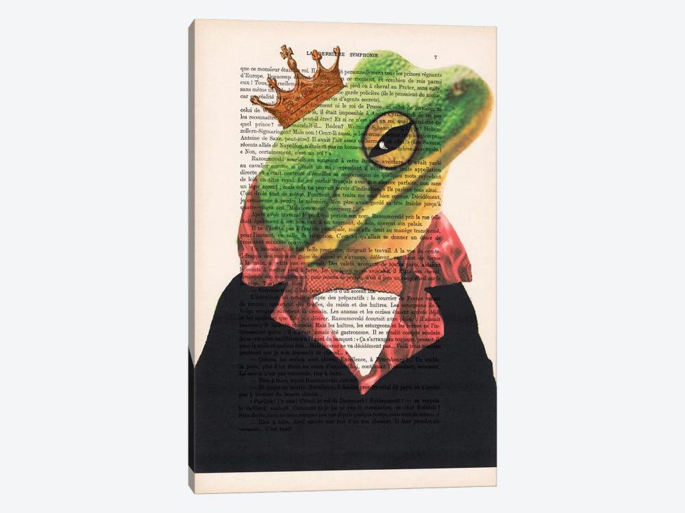 King Frog by Coco de Paris 1-piece Canvas Wall Art