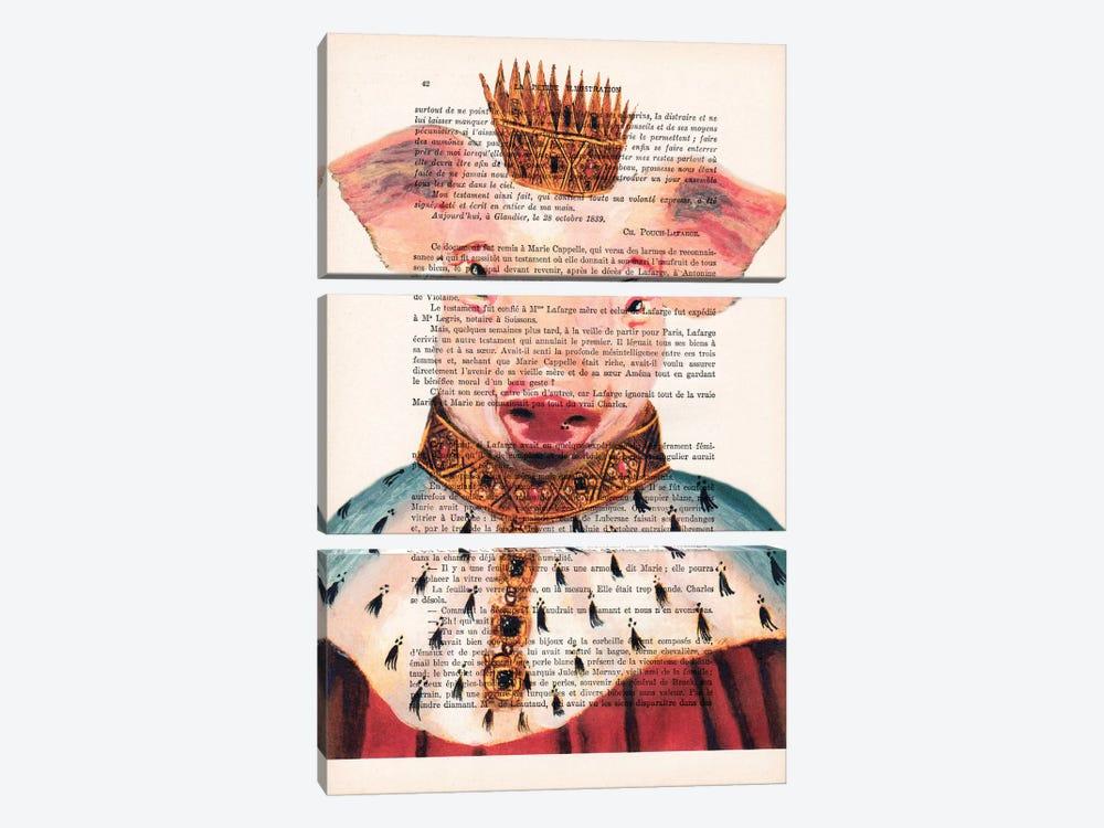 King Pig by Coco de Paris 3-piece Canvas Print