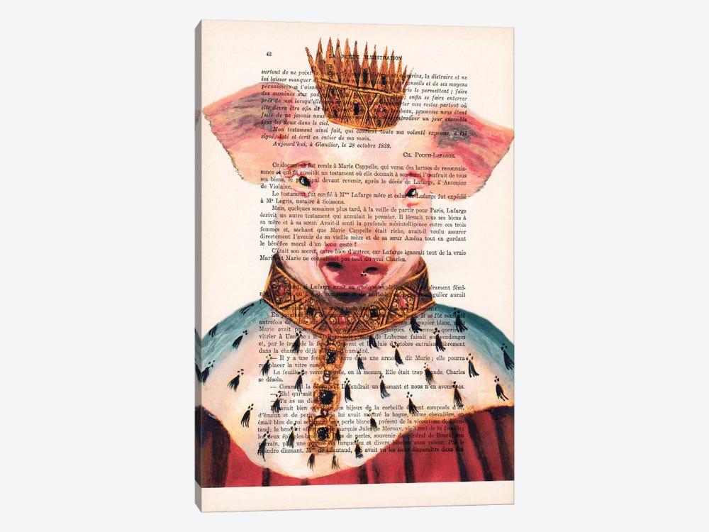 King Pig by Coco de Paris 1-piece Canvas Print