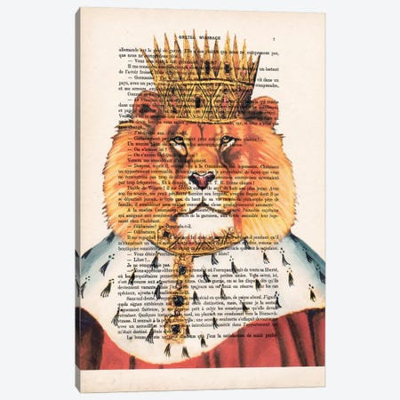 Lion King Canvas Print #COC115} by Coco de Paris Canvas Print
