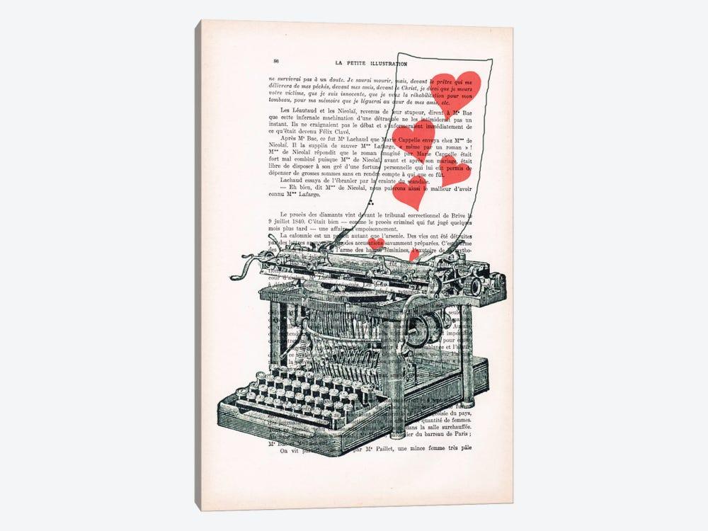 Love Letter by Coco de Paris 1-piece Canvas Print