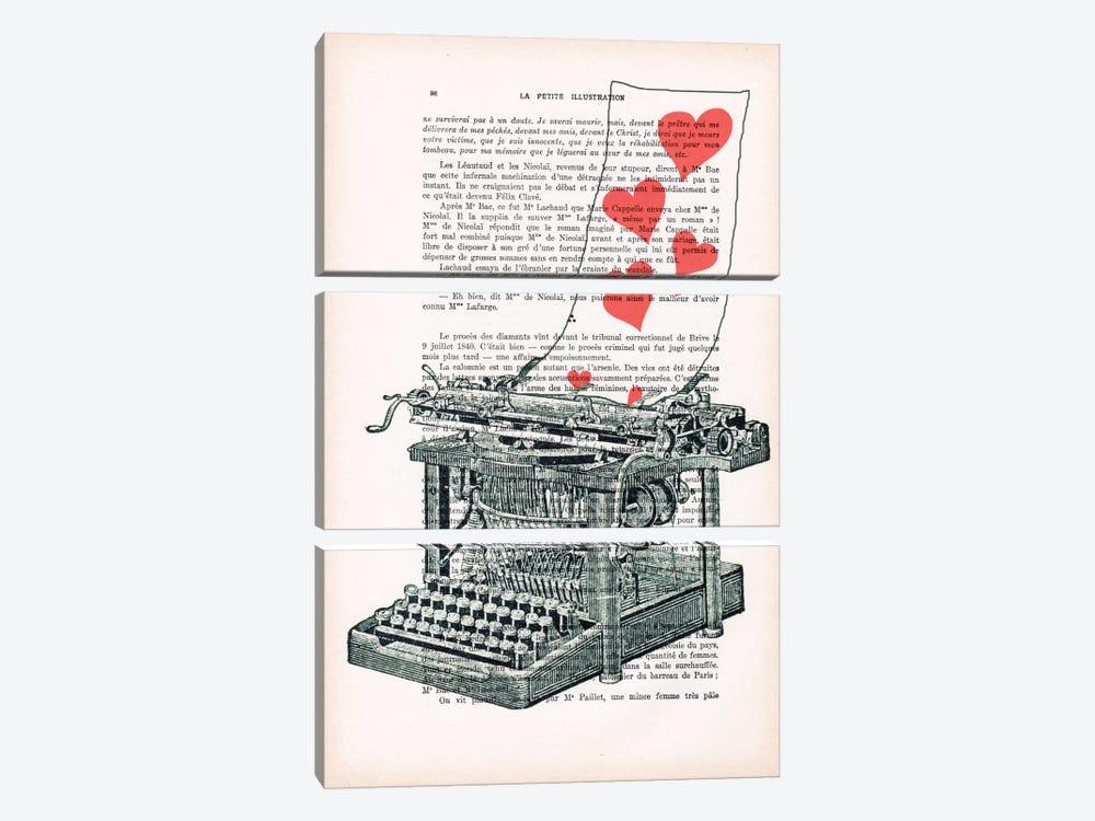 Love Letter by Coco de Paris 3-piece Art Print