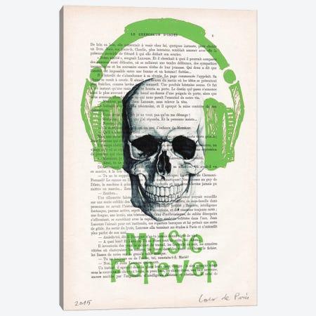 Music Forever I Canvas Print #COC117} by Coco de Paris Canvas Print