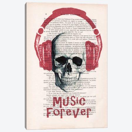 Music Forever II Canvas Print #COC118} by Coco de Paris Canvas Wall Art