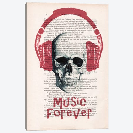 Music Forever II Canvas Print #COC118} by Coco de Paris Canvas Wall Art