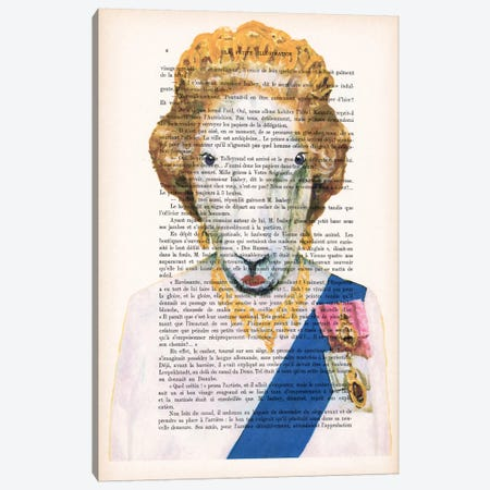 Queen Elisabeth Goat Canvas Print #COC128} by Coco de Paris Canvas Print