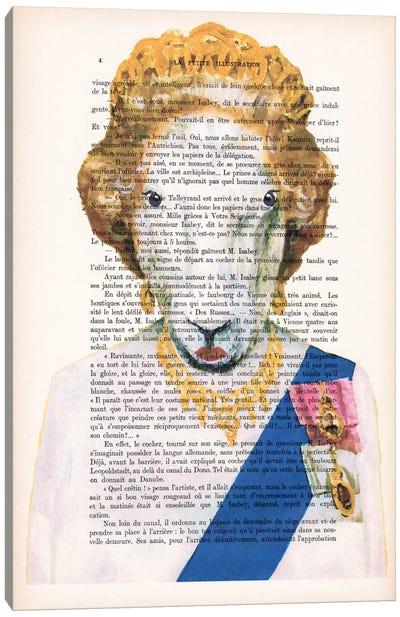 Queen Elisabeth Goat Canvas Art Print