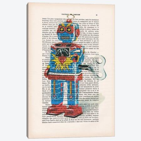 Robot I Canvas Print #COC132} by Coco de Paris Canvas Art