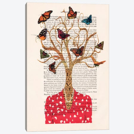 Tree Lady Canvas Print #COC142} by Coco de Paris Canvas Print