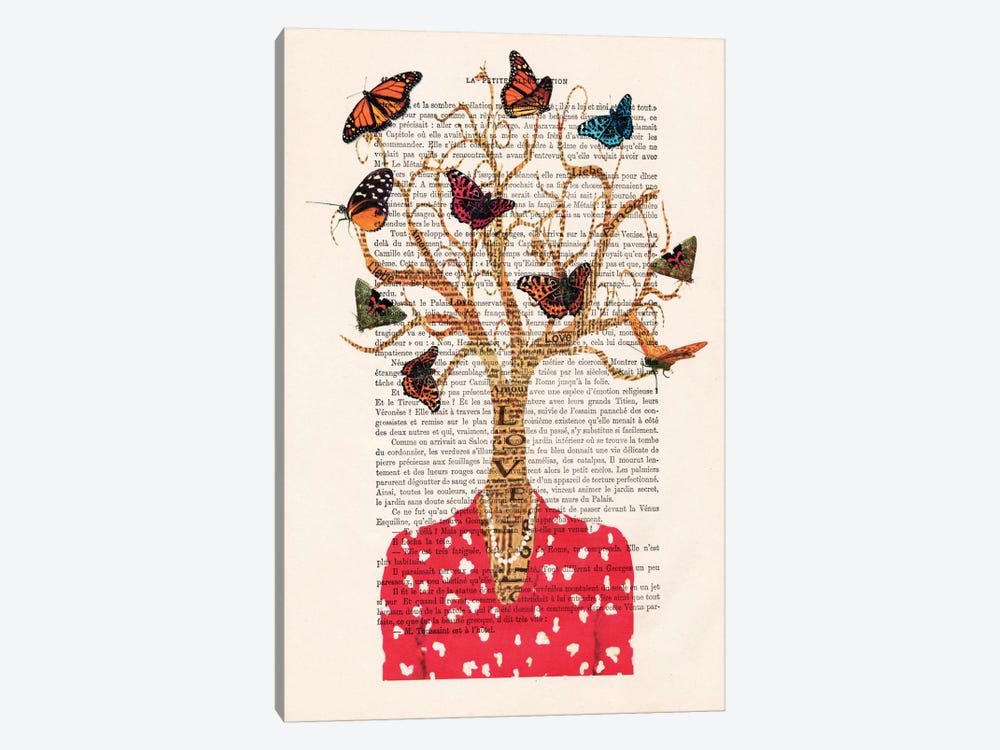 Tree Lady by Coco de Paris 1-piece Canvas Artwork