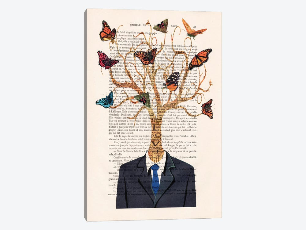 Tree Man by Coco de Paris 1-piece Canvas Print