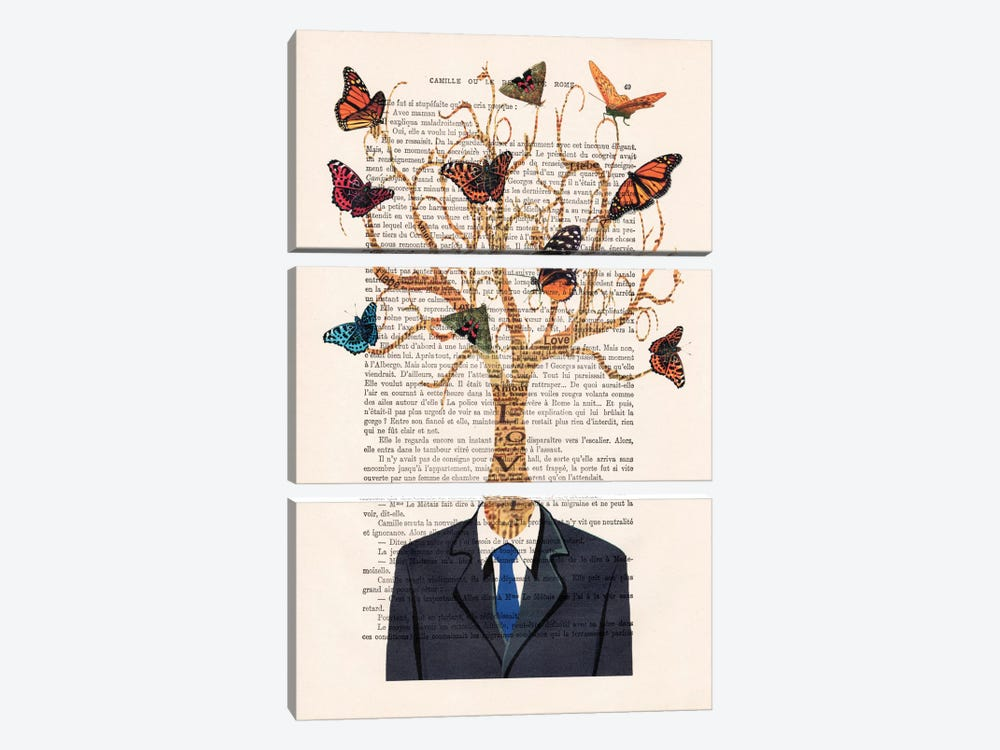 Tree Man by Coco de Paris 3-piece Art Print