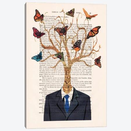 Tree Man Canvas Print #COC143} by Coco de Paris Art Print