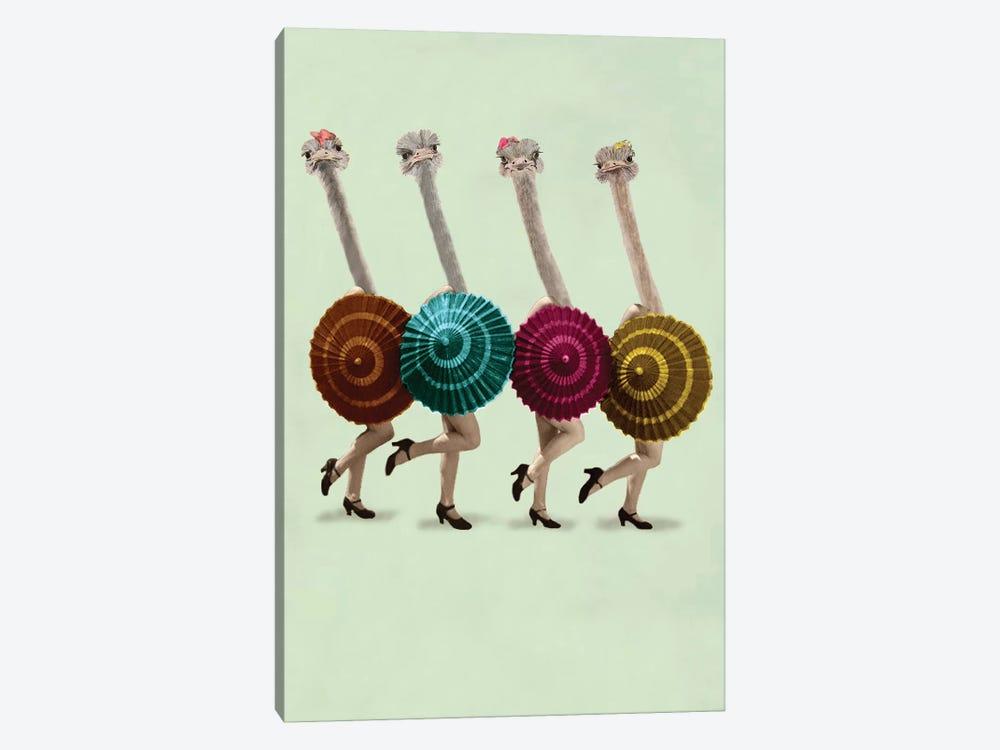 Dancing Ostriches by Coco de Paris 1-piece Art Print