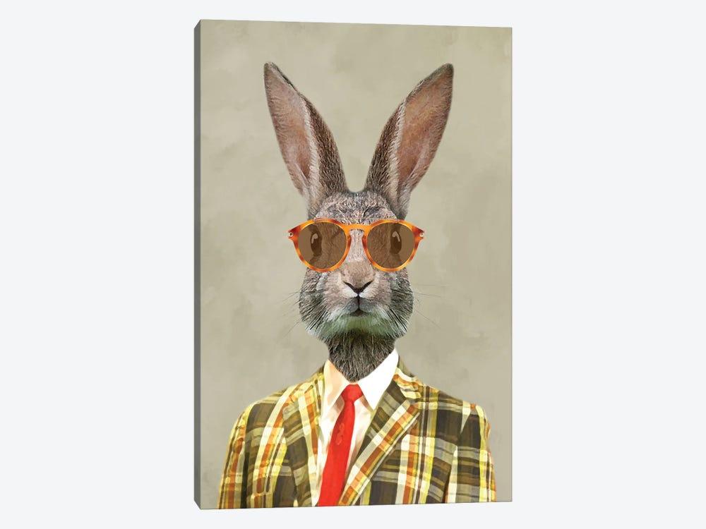 Rabbit Vintage Man I by Coco de Paris 1-piece Art Print