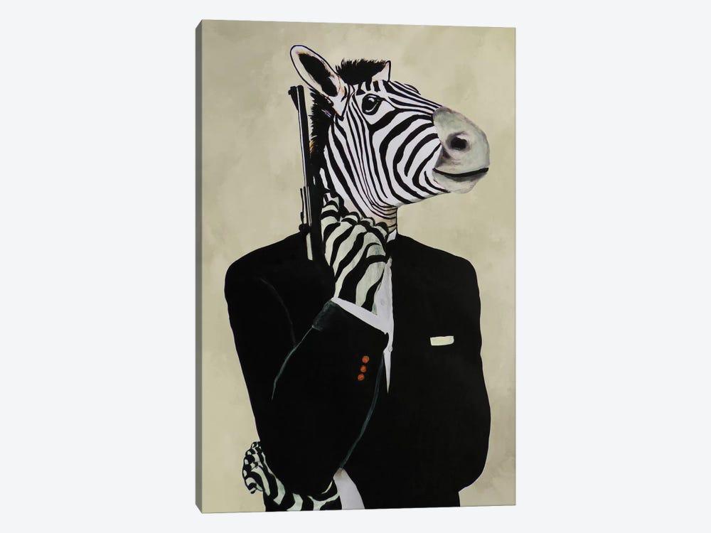 James Bond Zebra IV by Coco de Paris 1-piece Canvas Wall Art